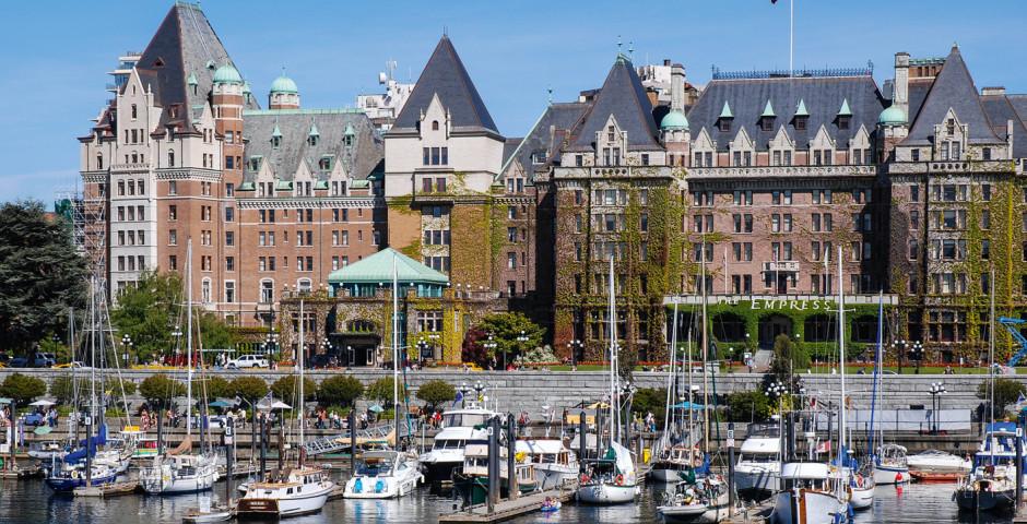 Fairmont Empress Hotel am Inner Harbour