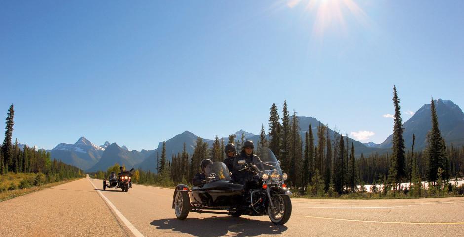 Seitenwagen fahren rund um Jasper - Jasper