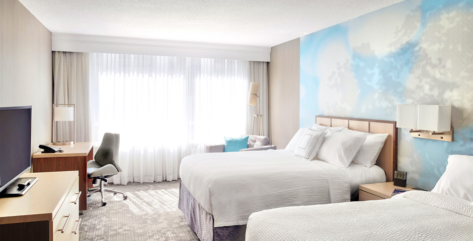 Chambre Deluxe - Courtyard by Marriott