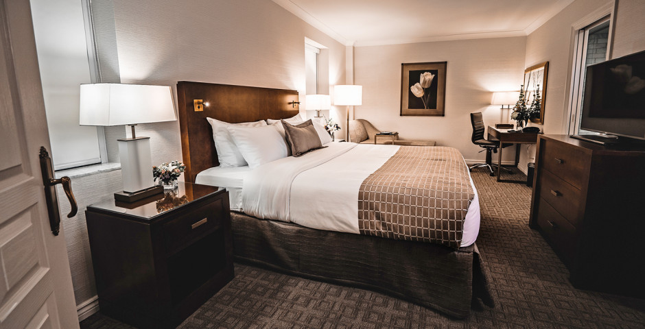 Suite Bedroom King - Lord Elgin
