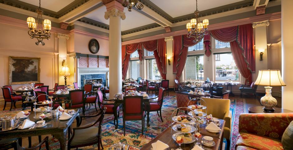 Tea Lobby - Fairmont Empress