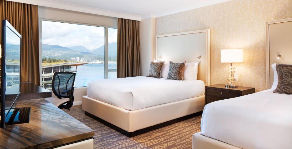 Deluxe Harbour-Zimmer - Fairmont Waterfront