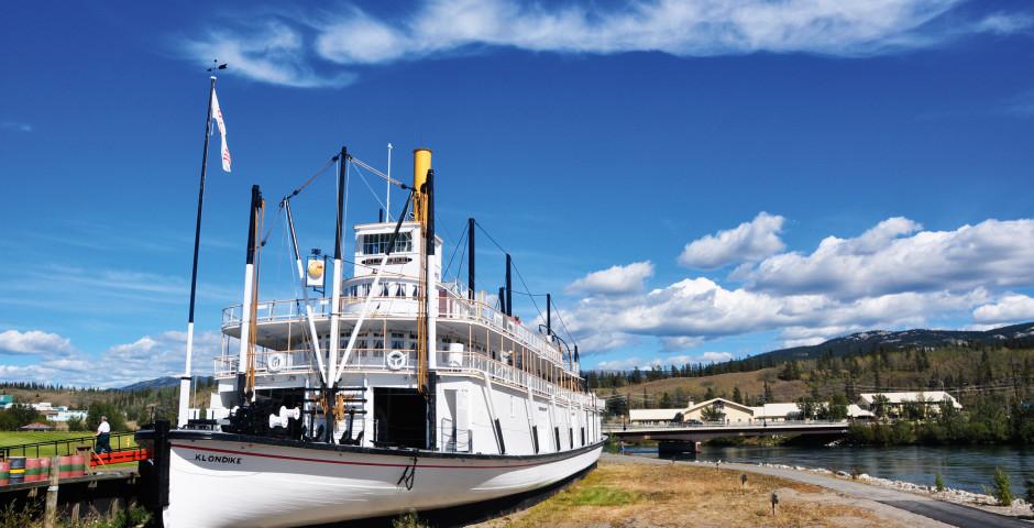 SS Klondike in Whitehorse - Yukon