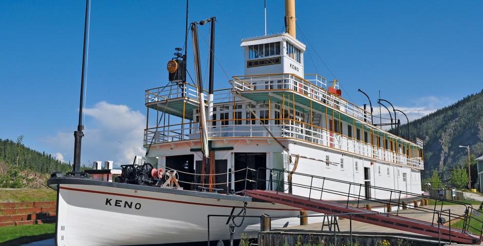 SS Keno in Dawson City - Yukon