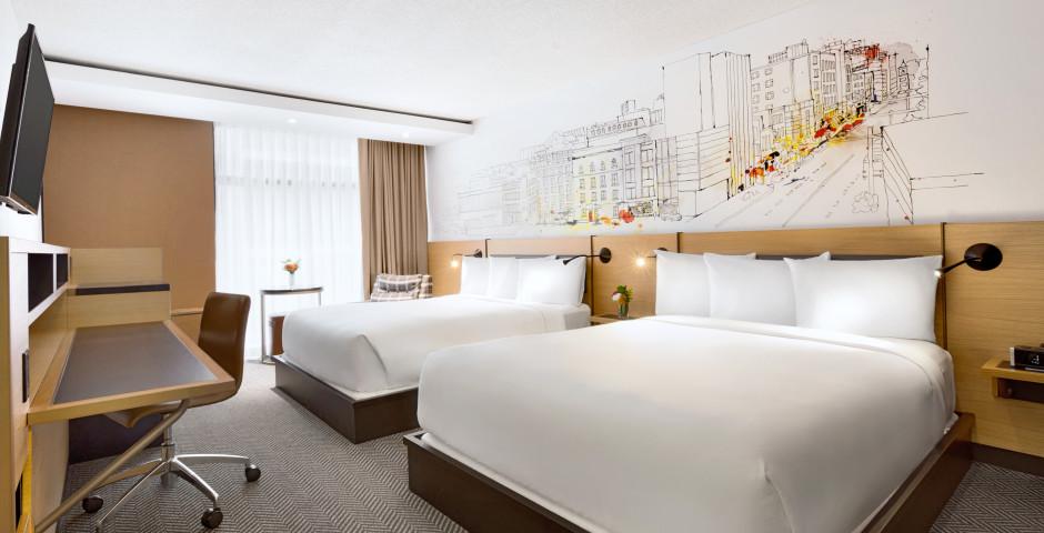 Guest Room 2 Queen - Hotel Pur