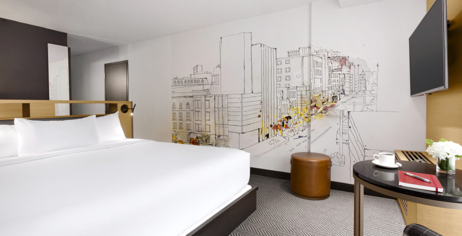 Guest Room King - Hotel Pur