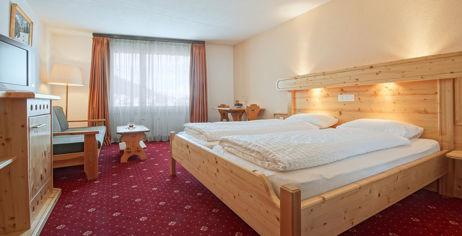 Doppelzimmer Nord - Club-Hotel Davos - Sommer inkl. Bergbahnen