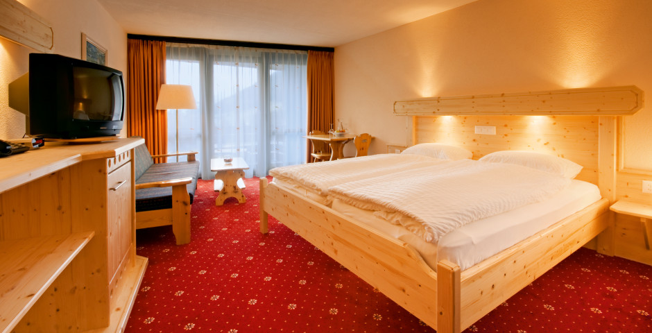 Doppelzimmer Süd - Club-Hotel Davos - Sommer inkl. Bergbahnen