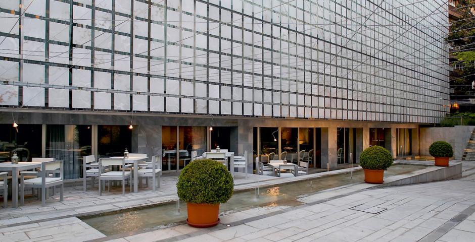 Moderner Teil des Hotels - Hospes Palacio de los Patos