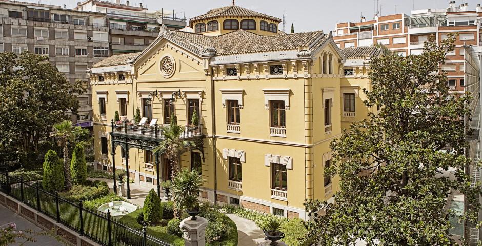 Antiker Teil des Hotels - Hospes Palacio de los Patos