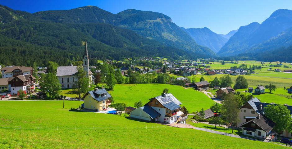 Das Dorf Gosau - Salzkammergut