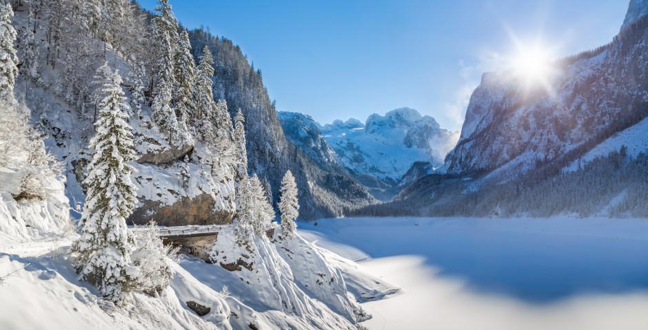 Le Gosausee en hiver - Salzkammergut