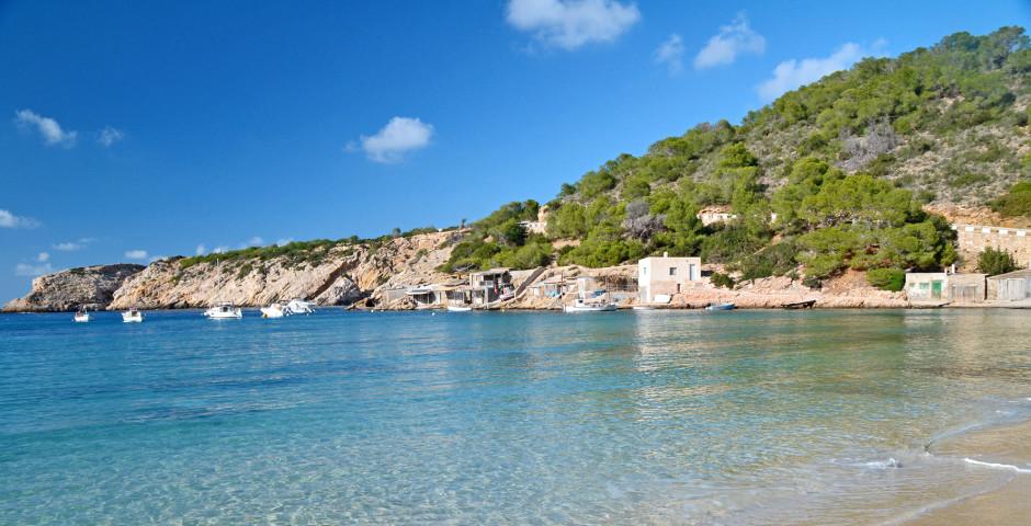 Blick auf die Bucht Cala Vadella - Cala Vadella
