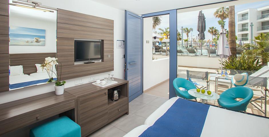 Doppelzimmer Superior - Limanaki Beach Hotel