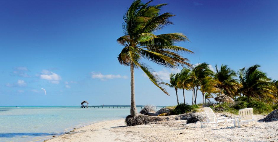 Plage de rêve sur l'île de Cayo Guillermo