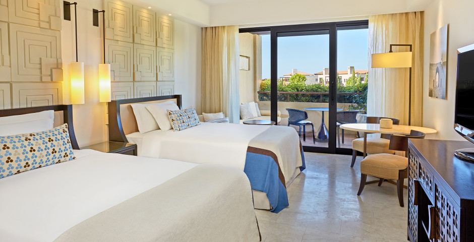 Chambre double Deluxe vue parc - The Romanos, a Luxury Collection Resort