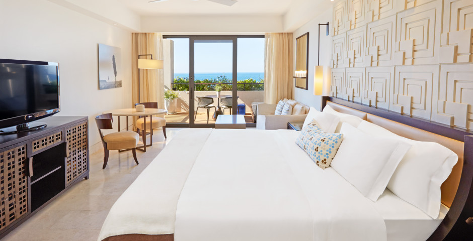 Chambre double Deluxe vue mer - The Romanos, a Luxury Collection Resort