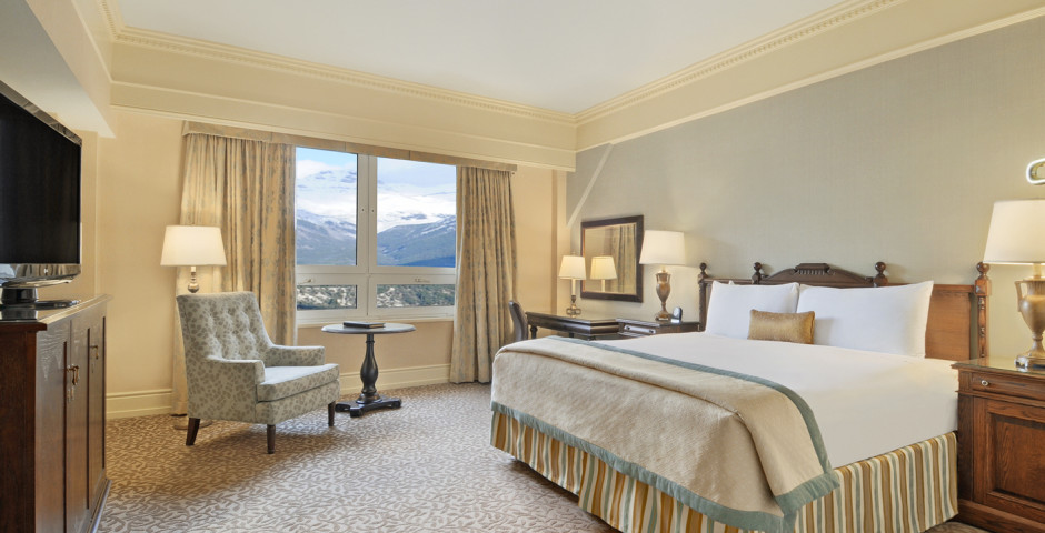 Fairmont Mountain View-Zimmer - Fairmont Banff Springs