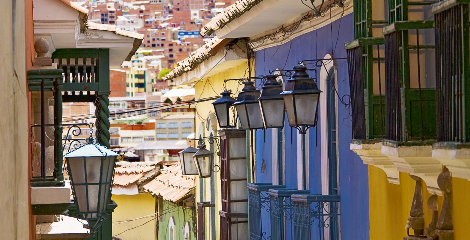 Vielle ville - La Paz
