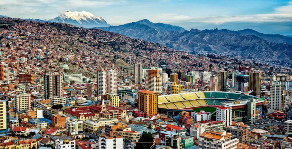 Photo aérienne - La Paz