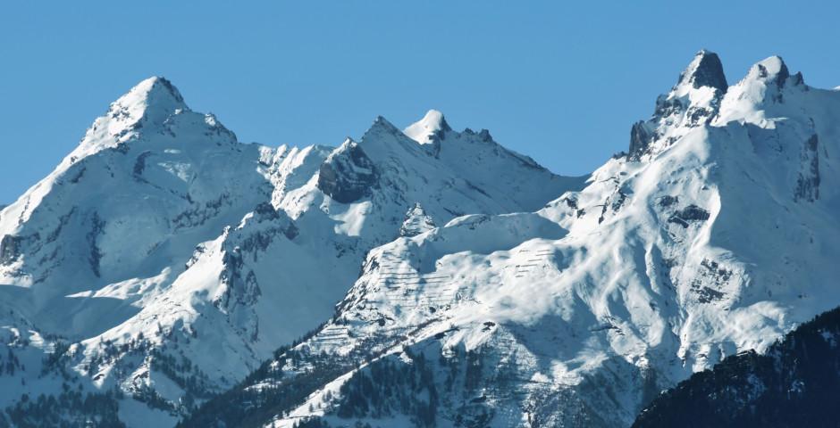 Die Berge Ovronnaz - Ovronnaz