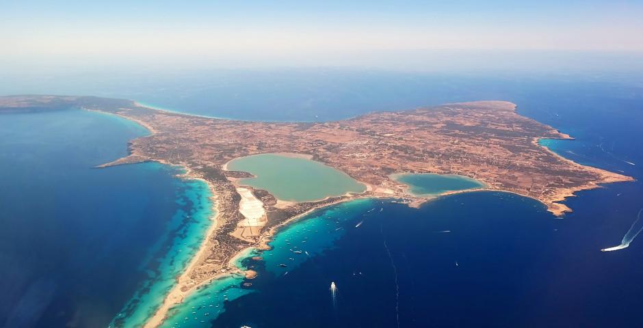 Photo aérienne - Formentera