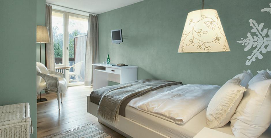 Doppelzimmer Süd «Nuovo» - Hotel Seehof Arosa Sommer inkl. Bergbahnen