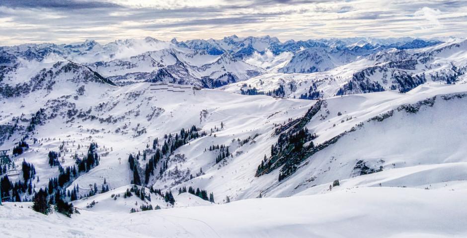 Faire du ski à Damüls