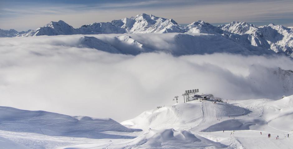 Winter in St. Anton am Arlberg