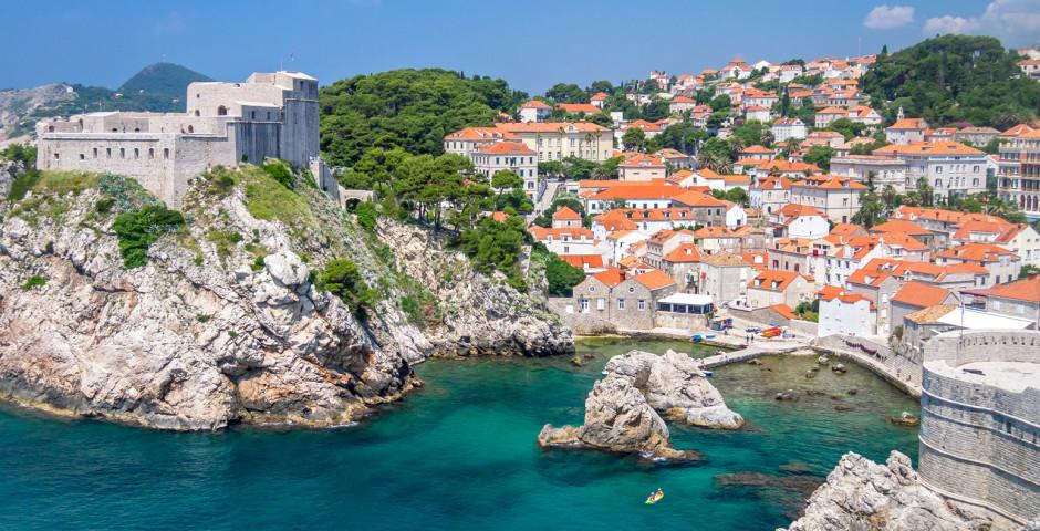 Luftaufnahme - Dubrovnik & Umgebung