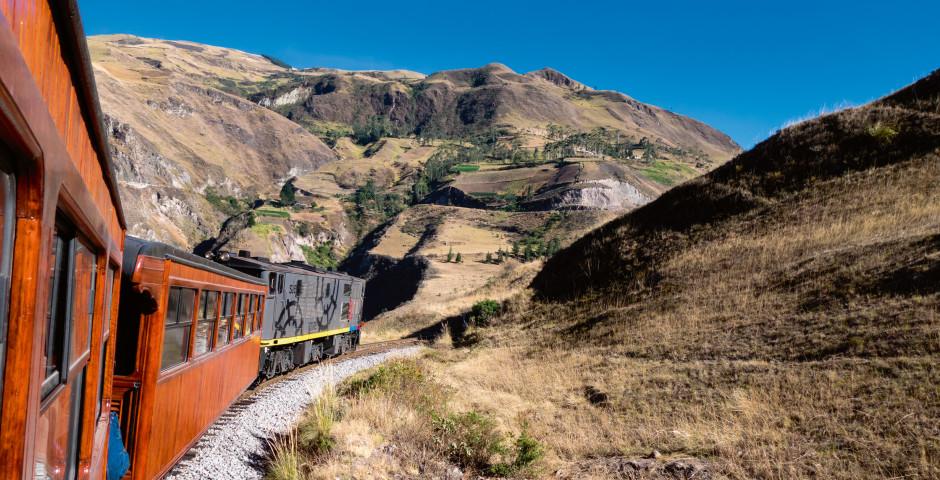 Des Teufels Nase Zug von Riobamba nach Sibambe - Ecuador