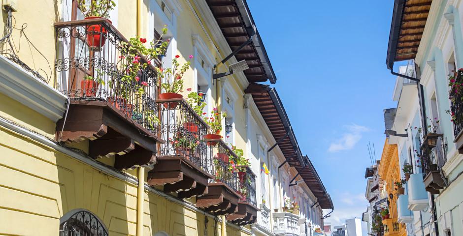 Architecture coloniale - Quito