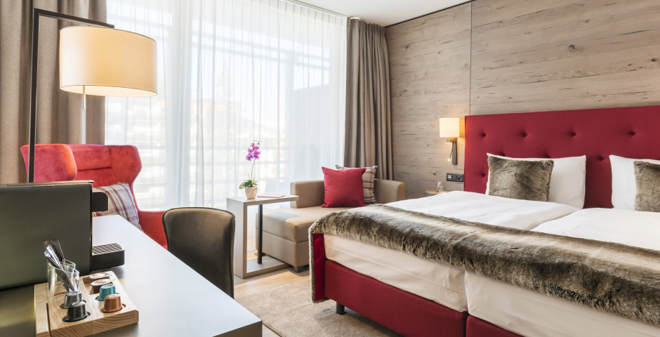 Doppelzimmer SMART Comfort / Premium - AMERON DAVOS SWISS MOUNTAIN RESORT - Skipauschale