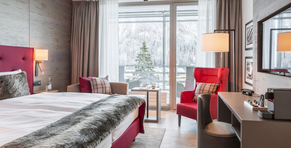 Doppelzimmer SMART Comfort - Ameron Swiss Mountain Hotel Davos - Skipauschale