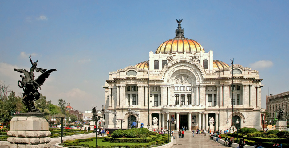 Palais des beaux-arts de Mexico - Mexico City