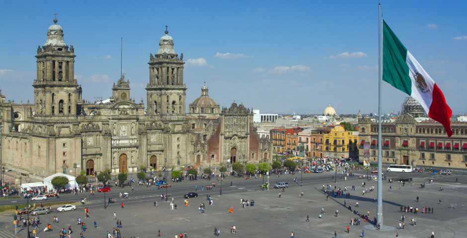 Place de la Constitution - Mexico City