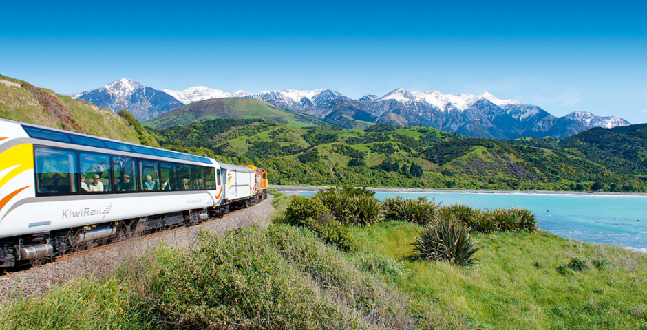 Kiwi Rail Zug - Christchurch