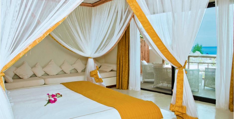 Deluxe Ocean View Room - Gold Zanzibar Beach House & Spa