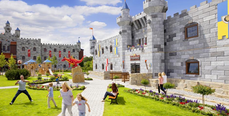 LEGOLAND® Feriendorf – Burgen inkl. Parkeintritt