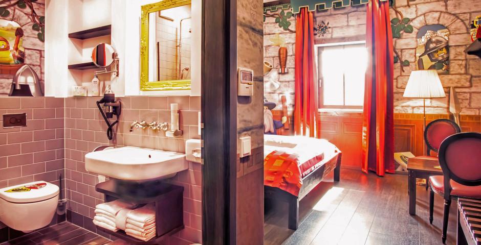 chambre château - Village de vacances LEGOLAND® – Châteaux incl. entrée parc LEGOLAND®