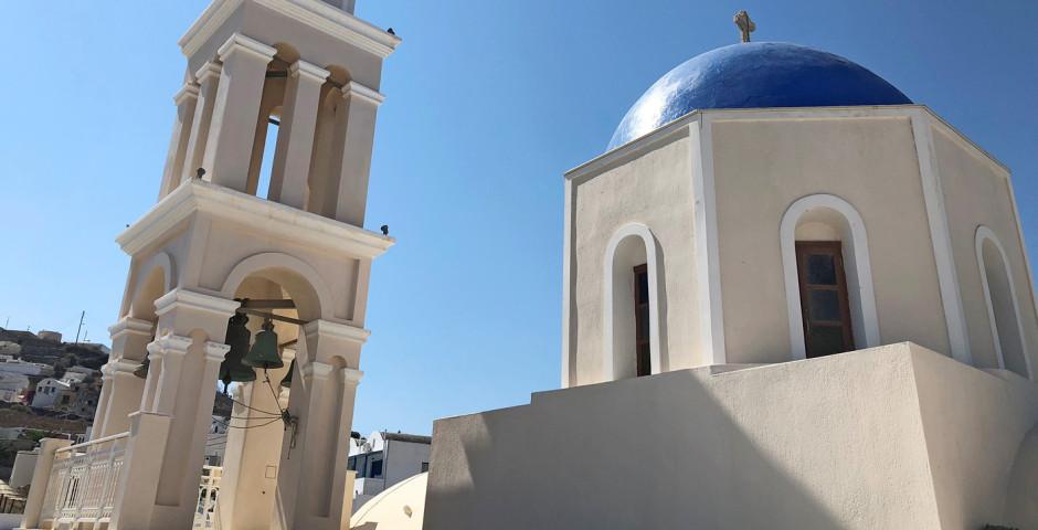 Die Kirche im Dorf Akrotiri - Akrotiri