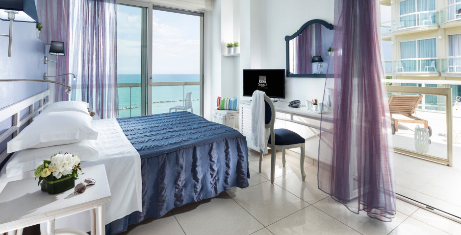 Familienzimmer Turchese - Hotel Sans Souci