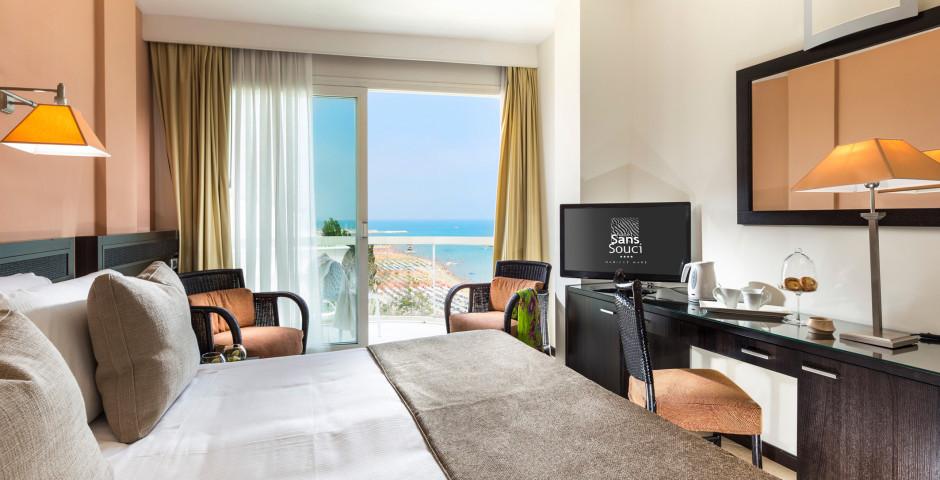 Doppelzimmer Zaffiro - Hotel Sans Souci