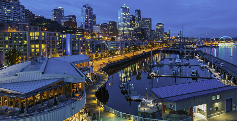 Seattle Hafen - Seattle