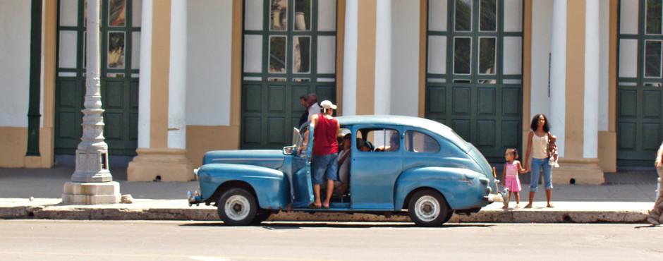 Voiture ancienne, La Havane