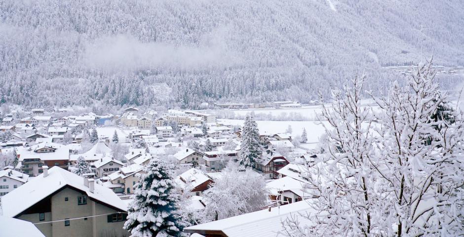 Fulpmes im Winter