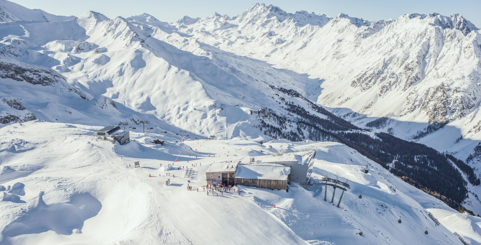 Faire du ski à Ischgl