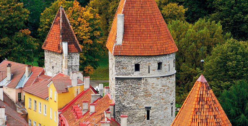 Türme von Tallinn - Tallinn