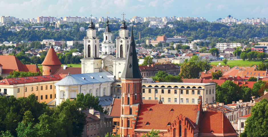 Église des Jésuites et église de Vytautas à Kaunas - Lituanie