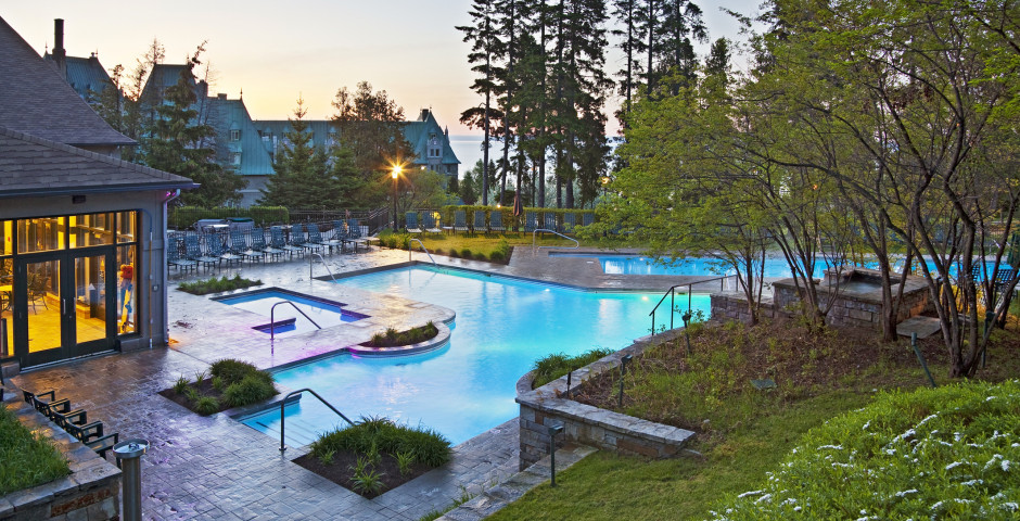 Aussenpool - Fairmont Le Manoir Richelieu